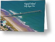 Pier Tastic Greeting Card