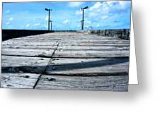 Pier To The Sky Greeting Card