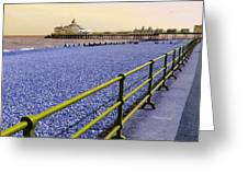 Pier View England Greeting Card