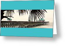 Pier Walk Greeting Card