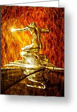 Pierce-arrow Ignite Passion Greeting Card