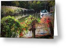 Piermont Fall Color Greeting Card