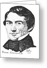 Pierre Chouteau Jr Greeting Card