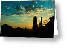 Piestawa Sunrise Greeting Card