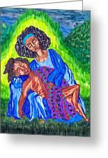 Pieta-2 Greeting Card