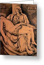 Pieta Study Greeting Card