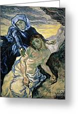 Pieta Greeting Card by Vincent van Gogh