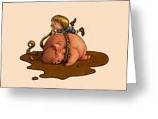 Pig Tales Greeting Card