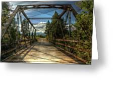 Pigeon Bridge Greeting Card