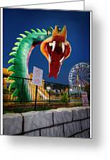 Pigeon Forge Dragon Greeting Card