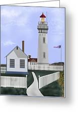 Pigeon Point Lighthouse California Greeting Card