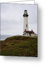 Pigeon Point Lighthouse II Color Greeting Card
