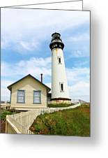 Pigeon Point Lighthouse View Greeting Card