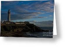 Pigon Point Lighthouse Greeting Card