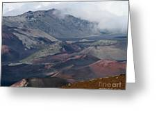Pihanakalani Haleakala House Of The Sun Summit Maui Hawaii Greeting Card
