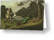 Pike Fishing Greeting Card