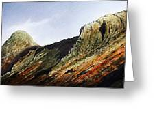Pike O' Stickle And Loft Crag Greeting Card