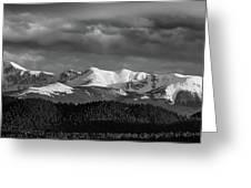 Pike's Peak Or Bust Greeting Card