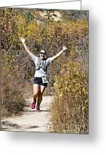 Pikes Peak Road Runners Fall Series IIi Race #3676 Greeting Card