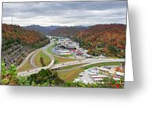 Pikeville Cut-through Greeting Card
