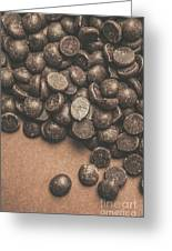 Pile Of Chocolate Chip Chunks Greeting Card