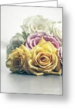 Pile Of Roses Greeting Card
