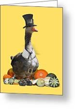 Pilgrim Goose Greeting Card