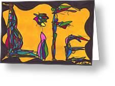 Pillar Of Life Greeting Card