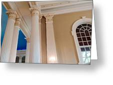 Pillars Of Strentgh Greeting Card