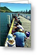 Pilot Bay Beach 6 - Mount Maunganui Tauranga New Zealand Greeting Card