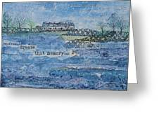 Pilots Cove Cottages Greeting Card