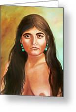 Pima Maiden Greeting Card