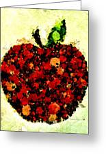 Pinatamiche Painting Crackle Art Greeting Card