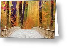 Pine Bank Splendor Greeting Card