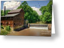 Pine Creek Gristmill Greeting Card