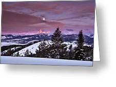 Pine Creek Pass Greeting Card