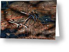 Pine Needles And Sticks Greeting Card