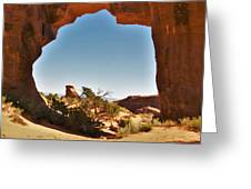 Pine Tree Arch 1 Greeting Card