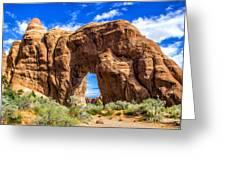 Pine Tree Arch Greeting Card