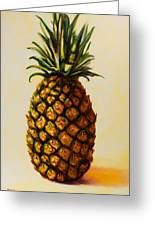 Pineapple Angel Greeting Card