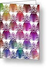 Pineapple Repeat Greeting Card