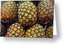 Pineapples Greeting Card