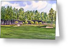 Pinehurst Golf Course 17th Hole Greeting Card