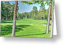 Pinetop Country Club - Hole #18 - Photos Greeting Card