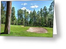Pinetop Country Club Photos Greeting Card