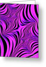 Pink Abyss Greeting Card