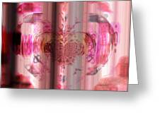 Pink Against Cancer Greeting Card