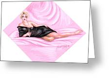 Pink Allure Greeting Card