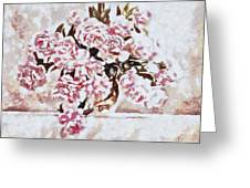 Pink And Beautiful Greeting Card