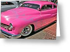 Pink Bomb Greeting Card
